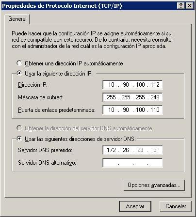 IPs del Decodificador