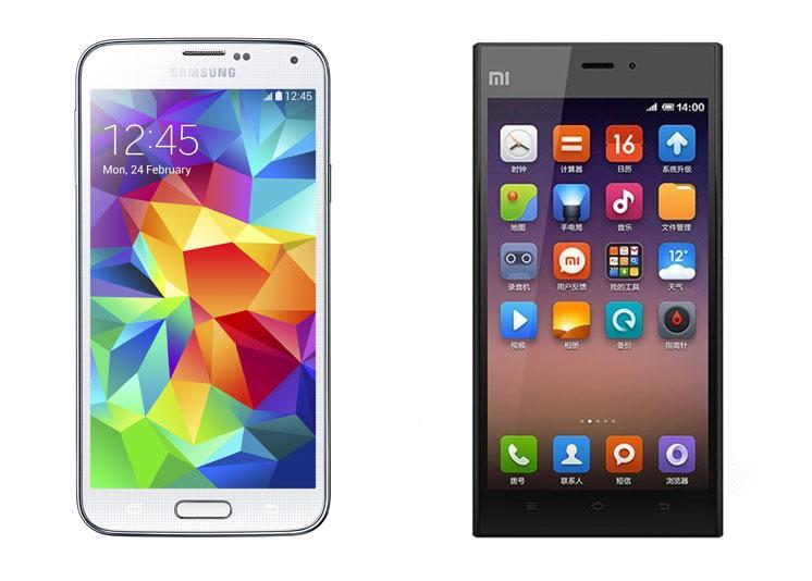 Comparativa a fondo  Samsung Galaxy S5 vs Xiaomi Mi3Xiaomi Mi3 Vs Samsung S5