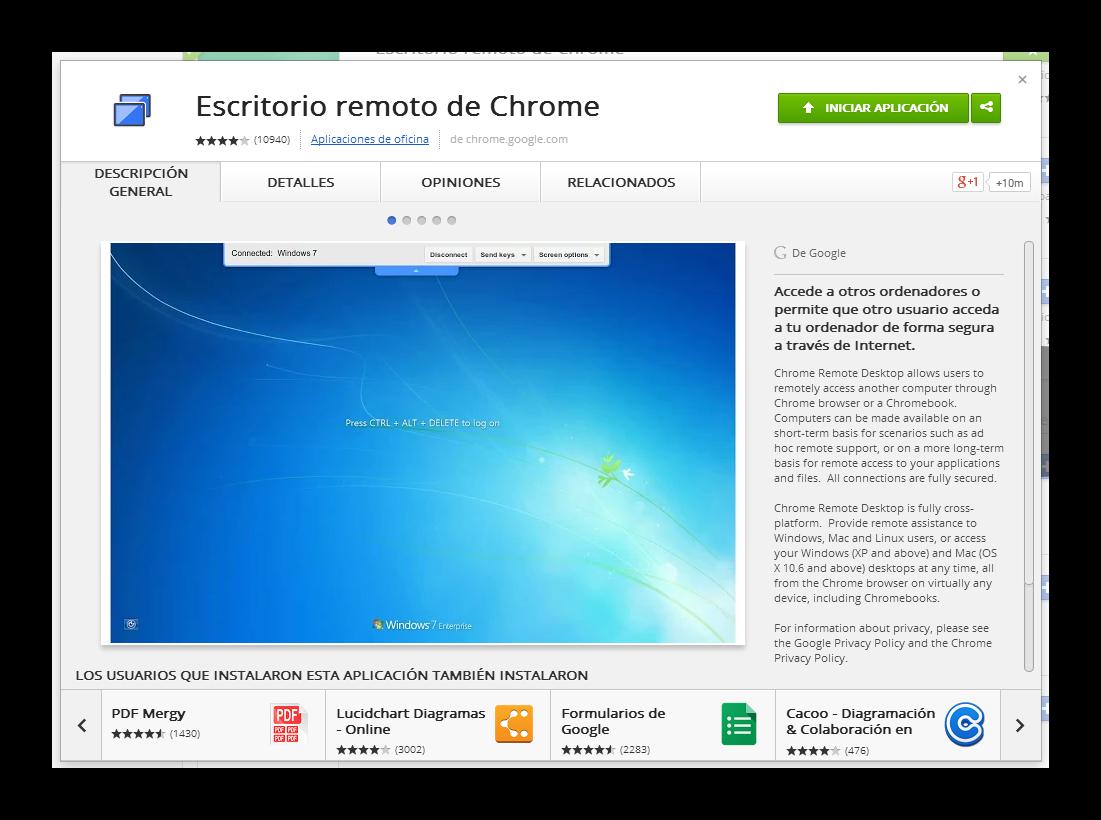 Controla El Ordenador Con Escritorio Remoto De Chrome