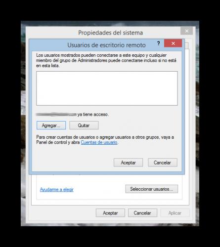 C mo activar desactivar el escritorio remoto de windows 8 for Escritorio movistar 8 8