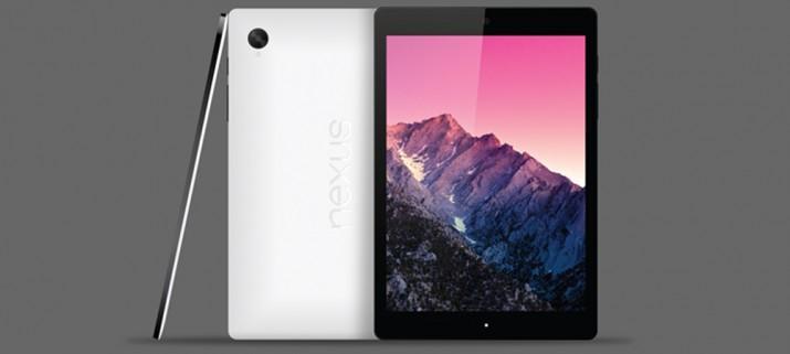 tableta nexus 9 google htc volantis cuerpo