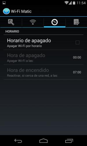 Enciende y apaga el wi fi autom ticamente con wi fi matic for Caldera se apaga y enciende constantemente