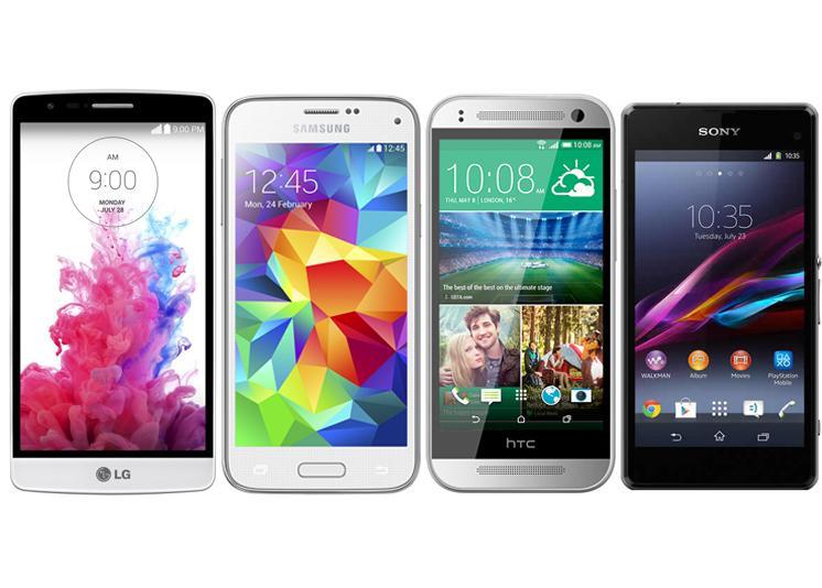 Comparativa: LG G3 Beat vs Samsung Galaxy S5 mini vs HTC ...