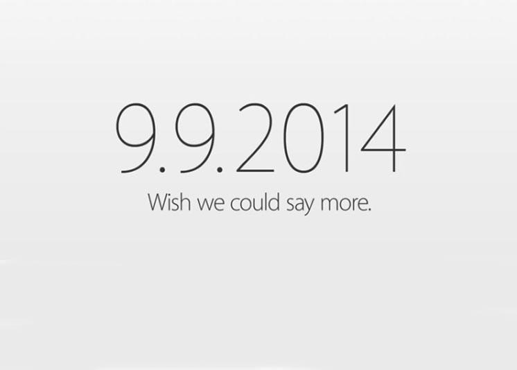 Apertura de evento de Apple del 9 de septiembre del 2014