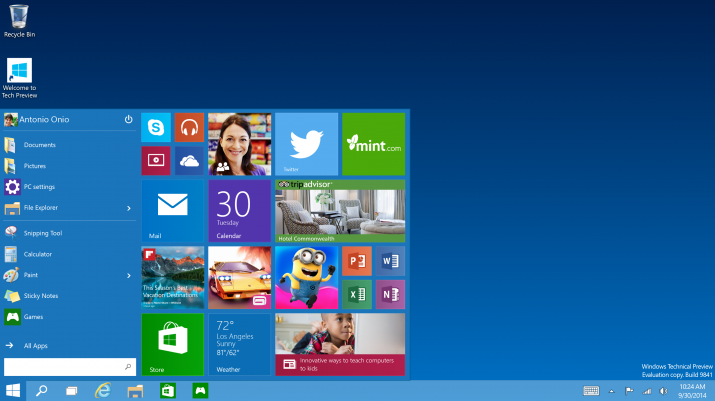 Microsoft presenta el nuevo Windows 10  - Página 2 Windows10_Start-menu-715x401