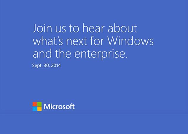 Ver noticia 'Microsoft convoca a la prensa el 30 de septiembre; Windows 9 y otras novedades que se esperan'