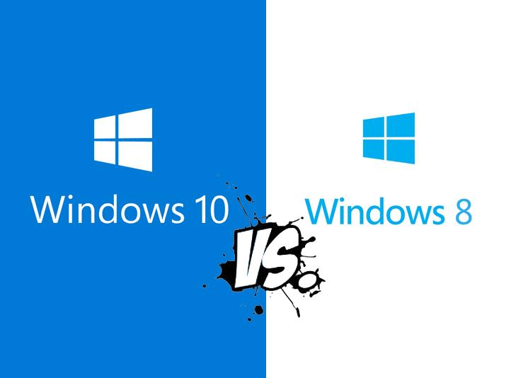 Windows 10 vs. Windows 8. Os mostramos las principales diferencias.