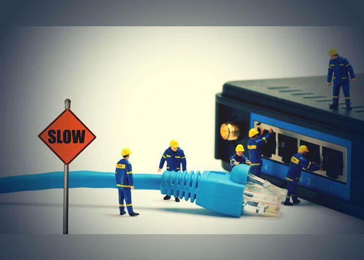 imagen de mantenimiento de un router