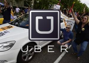 Los taxistas de Madrid persiguen y denuncian a los conductores de Uber