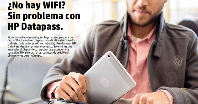 Ver noticia 'HP DataPass, conexión a Internet gratis estés donde estés'