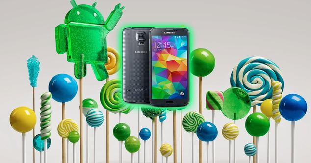 Ver noticia 'Android 5.0 Lollipop empieza a llegar al Samsung Galaxy S5'