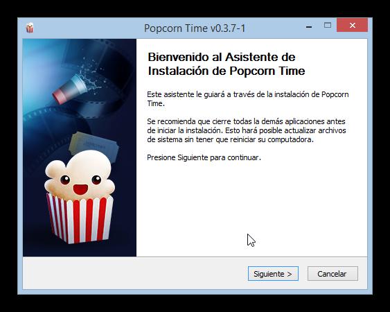 Popcorn Time P2P Streaming foto 2