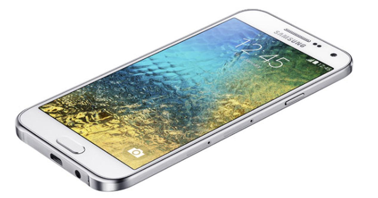 Samsung Galaxy E5 y Galaxy E7, la nueva gama baja
