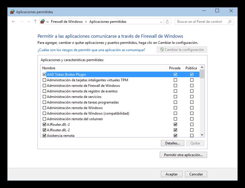 desactivar firewall windows xp