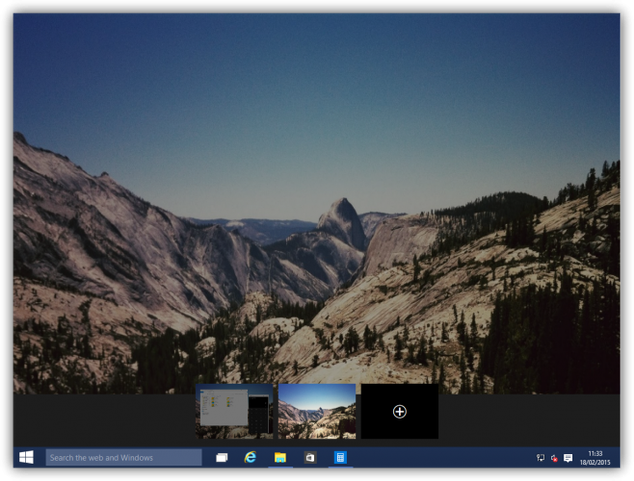 Windows 10 virtual desktops photo 3