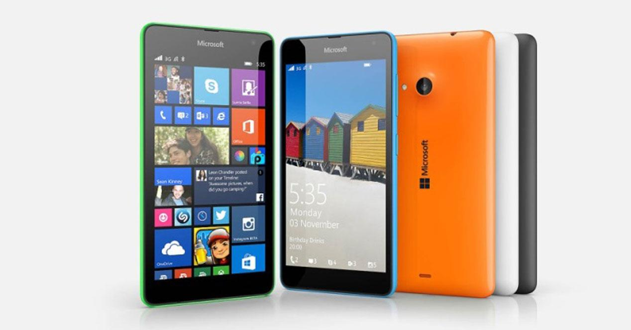Microsoft Is Selling to The 535 Lumia for 119 Euros