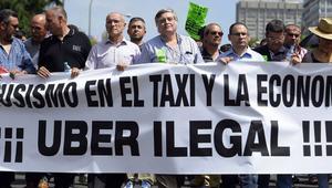 """Nueva huelga del taxi de 48 horas contra Uber y Cabify para que """"se haga cumplir la ley"""""""