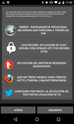 Cómo conectarse a la red Tor desde un smartphone Android