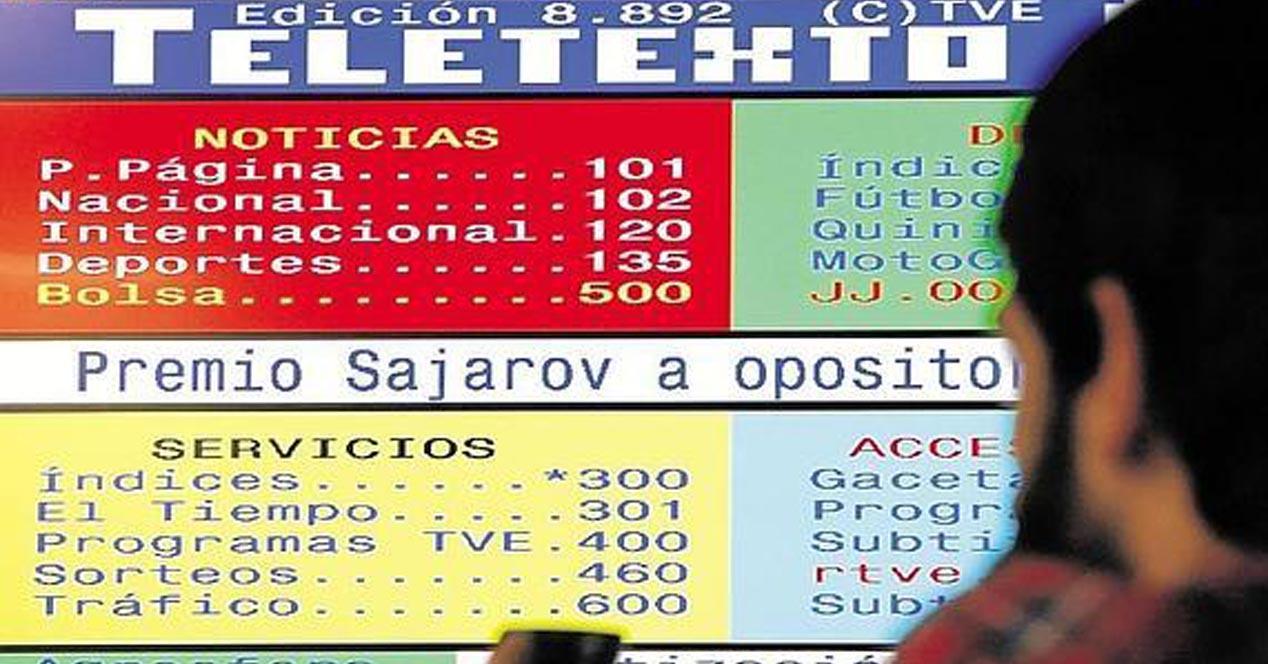 teletexto television: