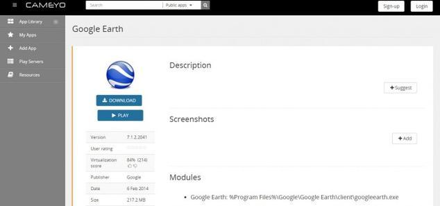 Utiliza aplicaciones directamente desde el navegador con Cameyo Cameyo-715x336