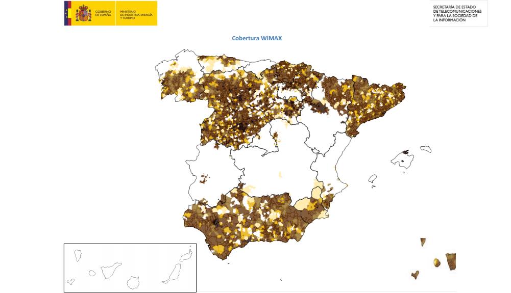 Mapa Cobertura Fibra Optica.Que Alternativas Hay Donde No Llega La Fibra Optica O El Adsl
