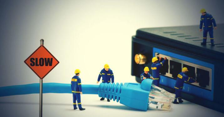 conexión lenta