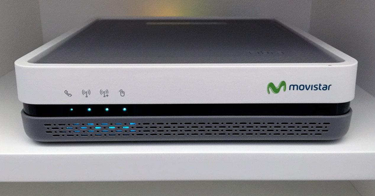 Router Movistar Fibra