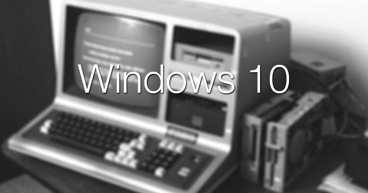 windows 10 ordenador viejo