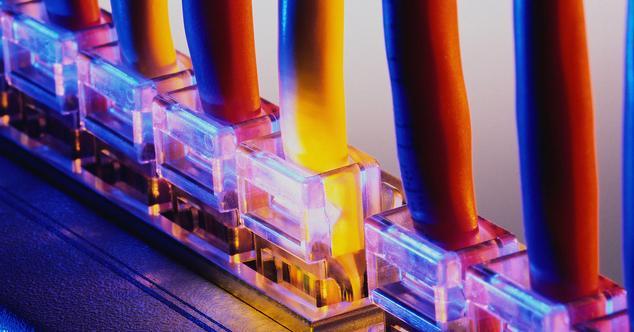 banda ancha conectores router internet