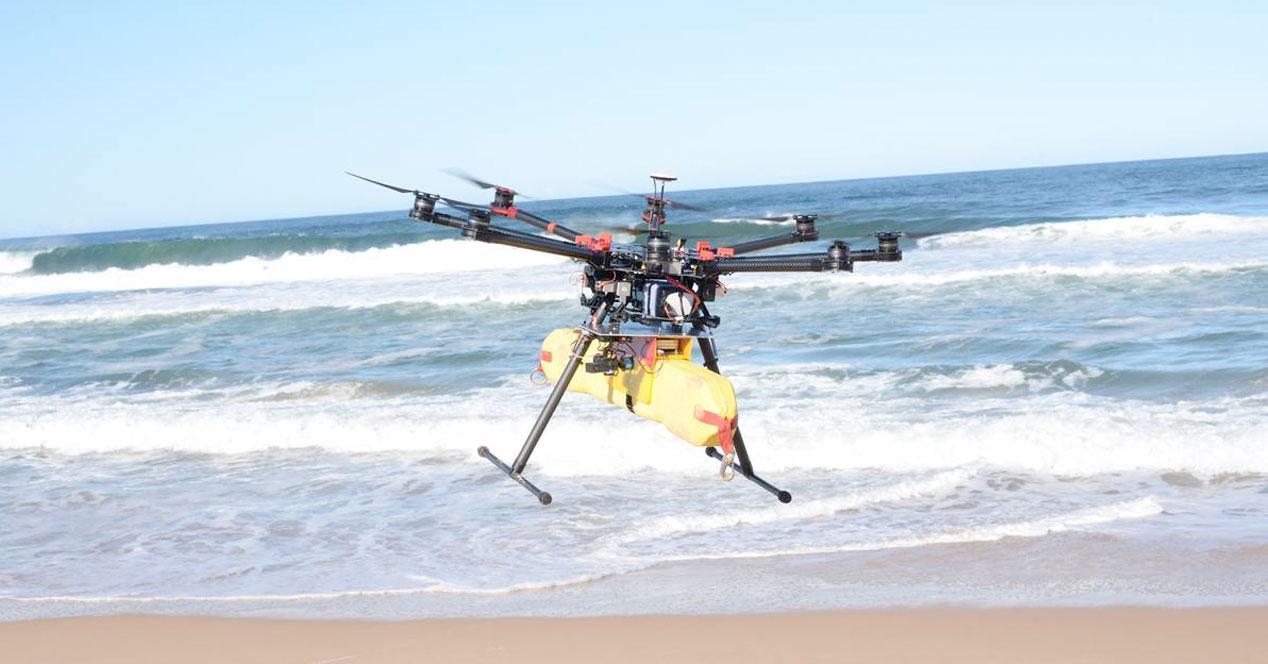 dron rescate