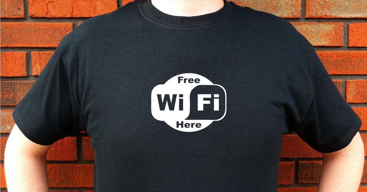 red inalámbrica Wi-Fi gratis