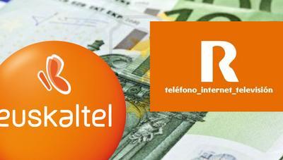 Euskaltel y R se apuntan a las subidas de precio ofreciendo más datos y 4G