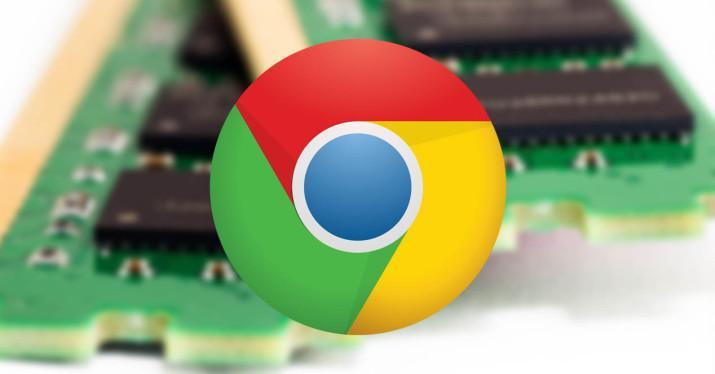consumo de memoria en Google Chrome