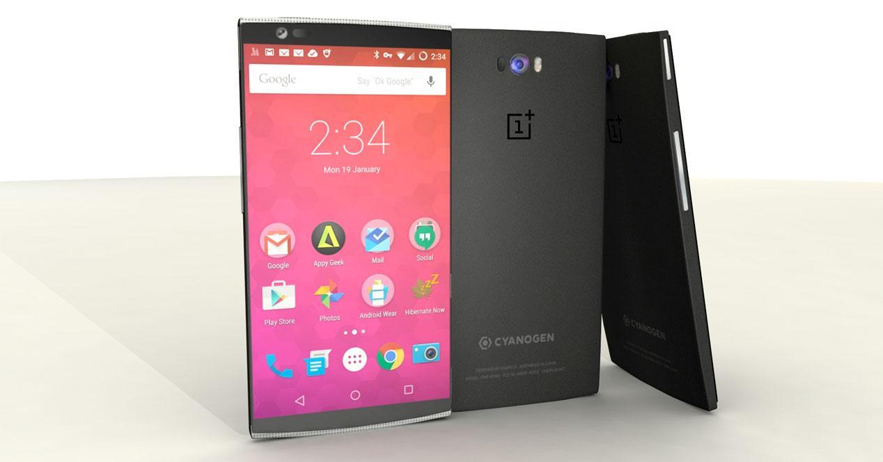 Concepto diseño OnePlus 2
