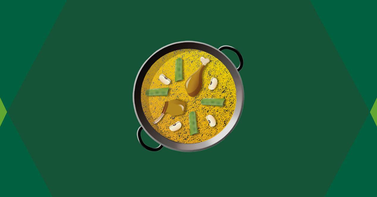 emoji emoticono paella