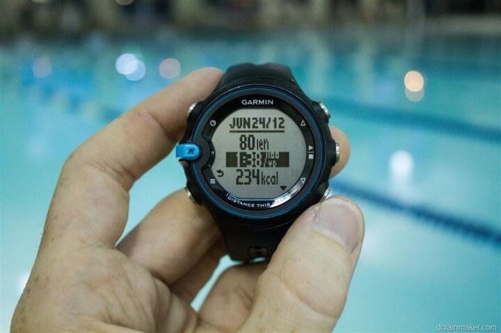 Los 5 mejores wearable para hacer deportes acu ticos en verano for Reloj piscina