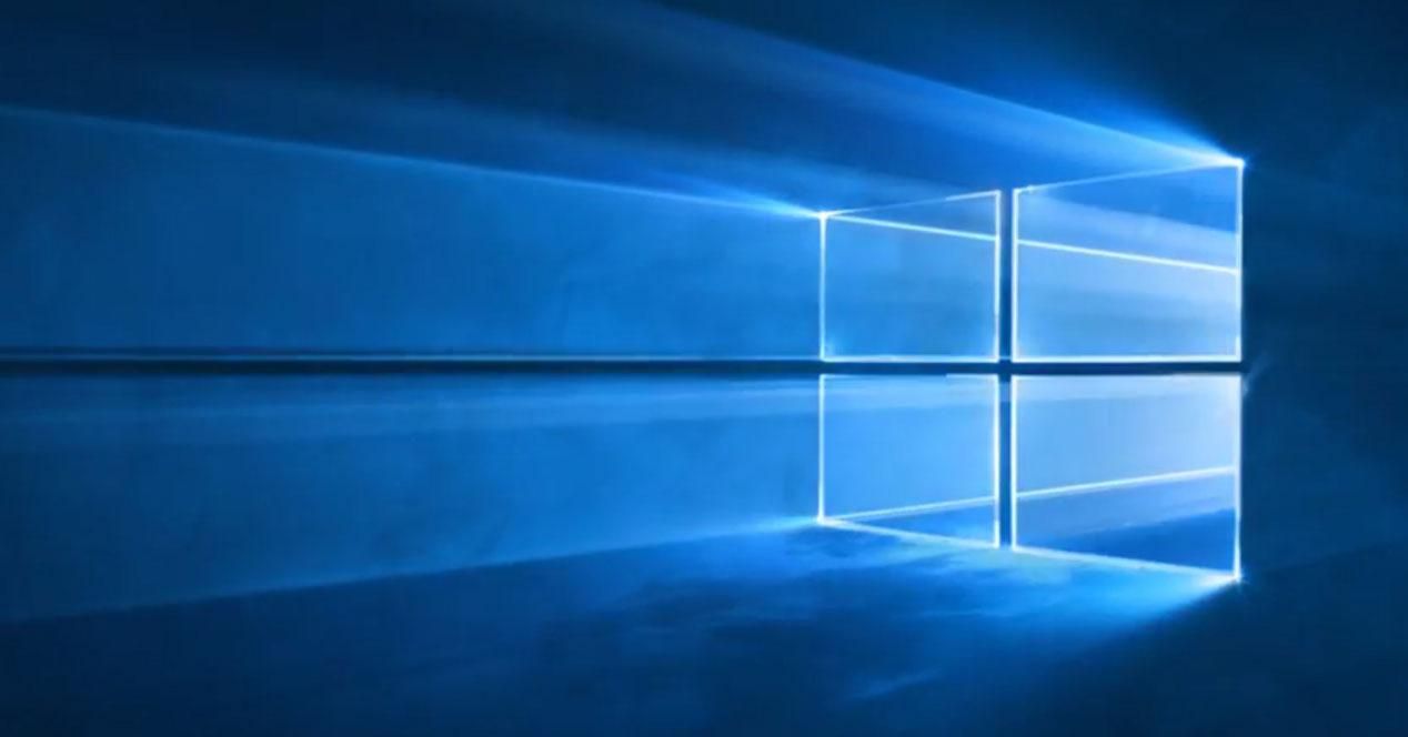 windows 10 fondo de pantalla azul