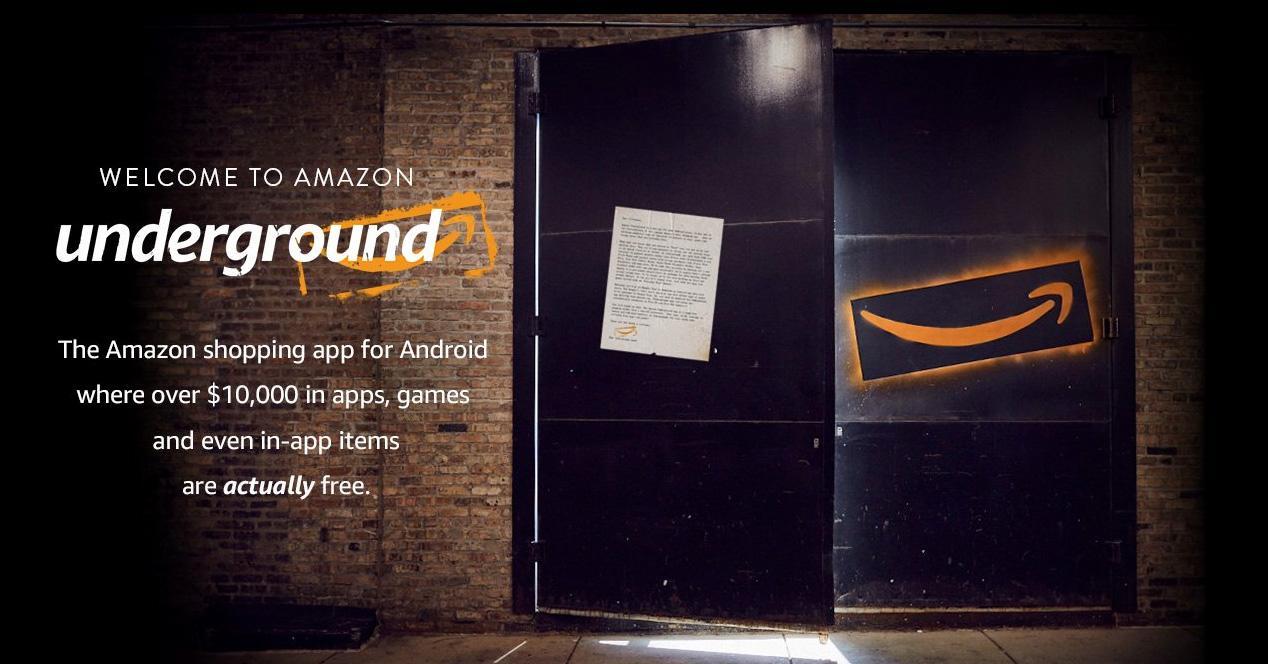 Amazon Underground para Android.