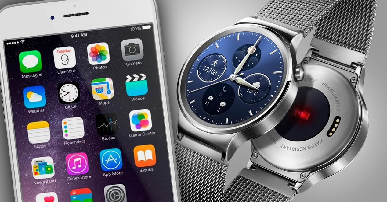 Android Wear compatible con iOS.