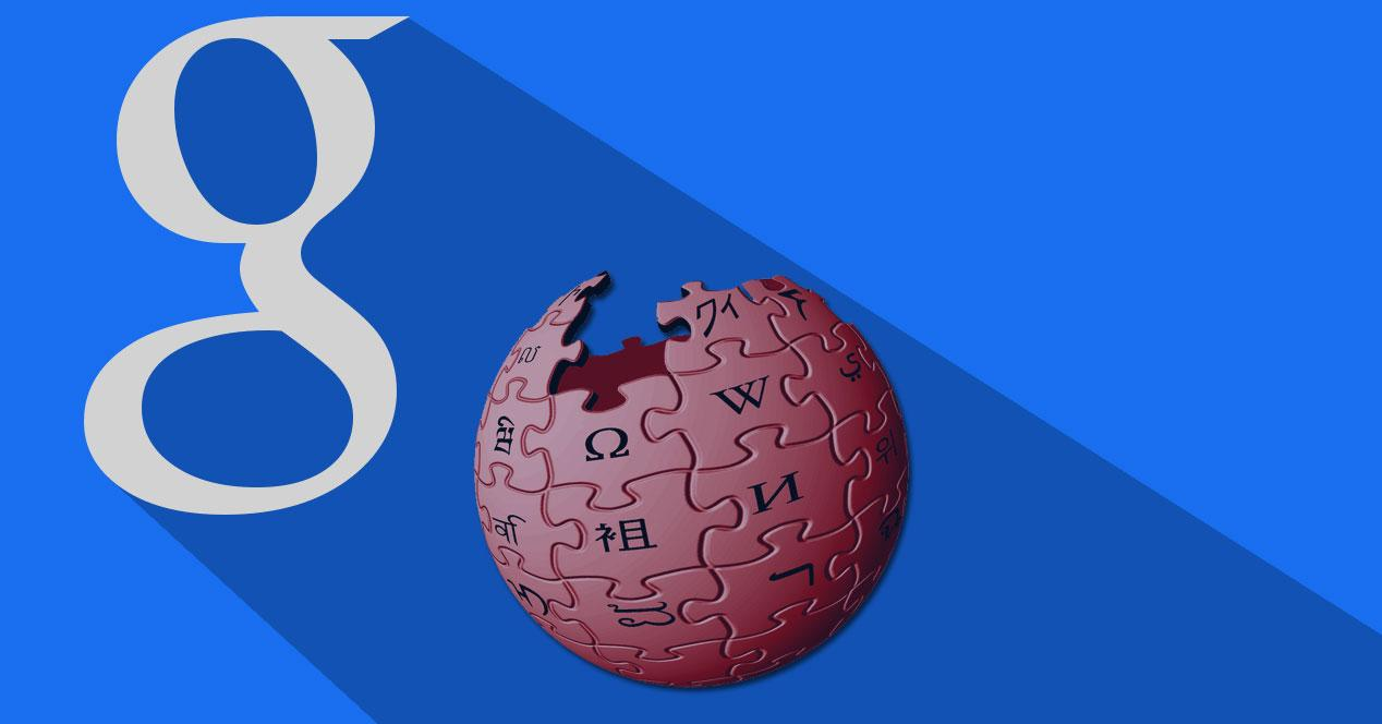wikipedia problemas google