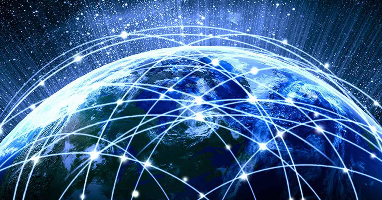 internet por satélite mundo