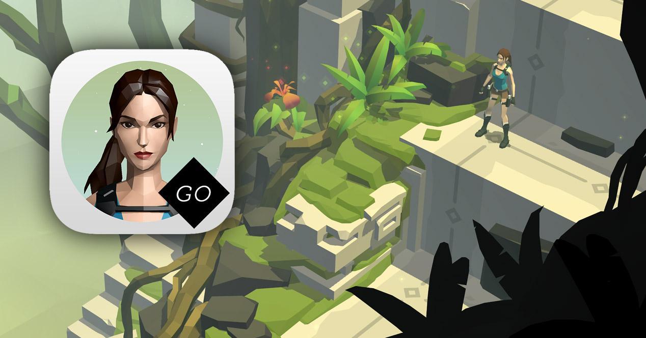 Lara Croft GO para iOS, Android y Windows.
