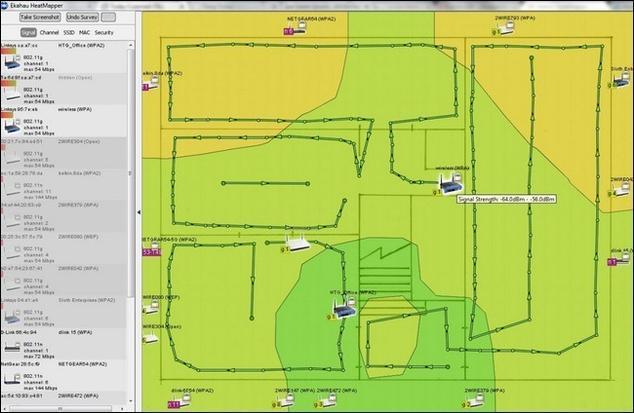 Crea un mapa de la red Wi-Fi de tu casa para controlar