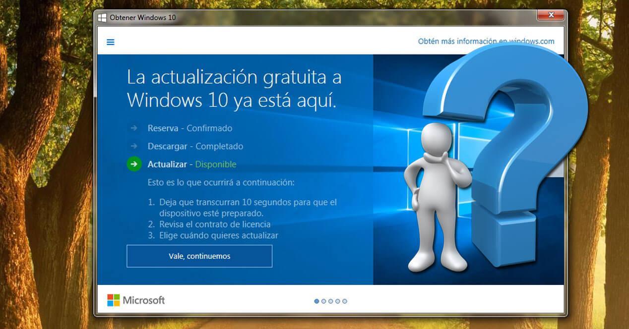 actualizar windows 10 motivos usuarios