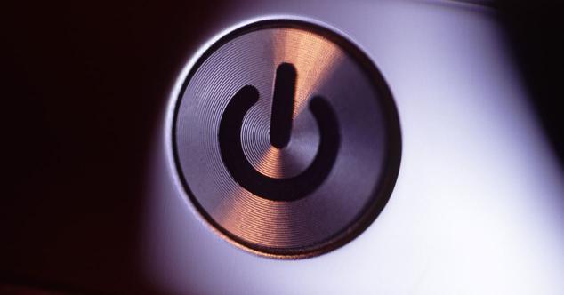 PC botón encendido