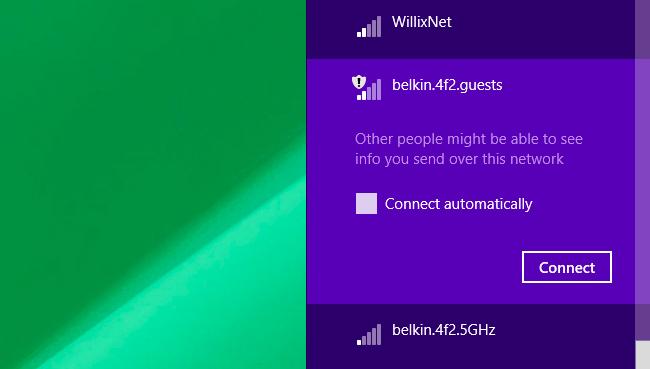 red Wi-Fi invitados no segura