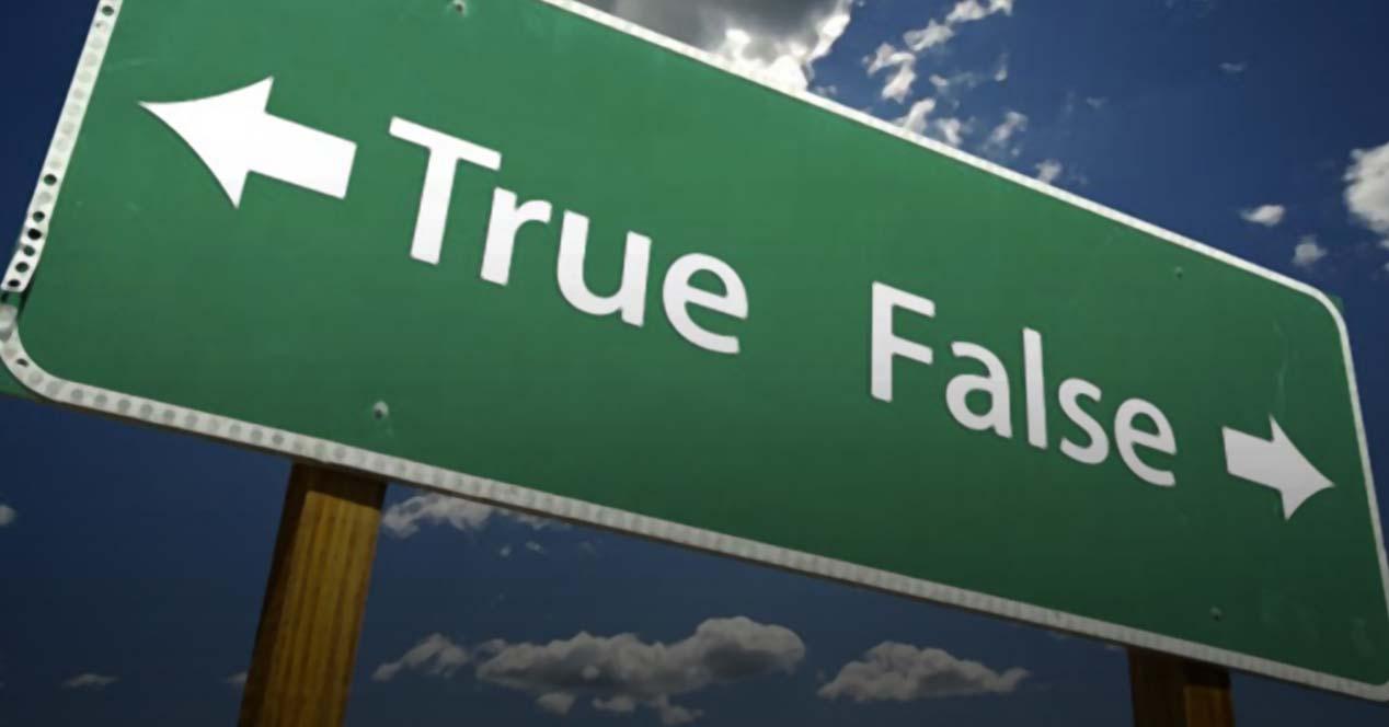 verdadero falso