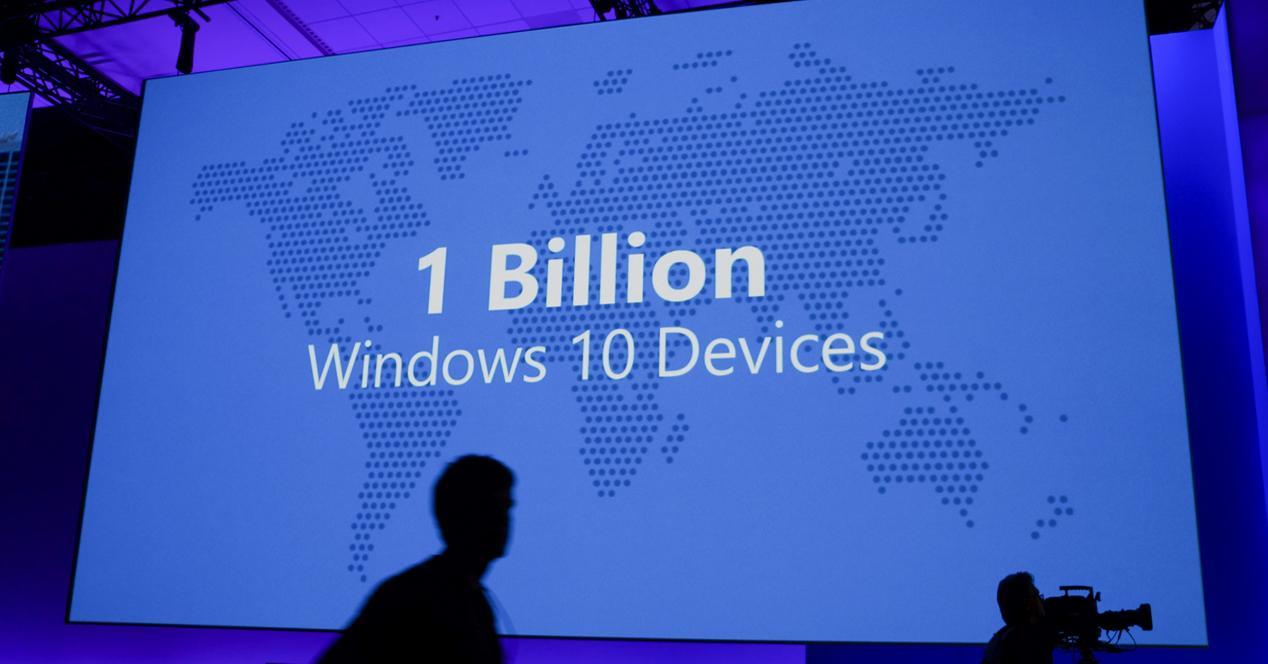 Presentacion Windows 10 500 millones