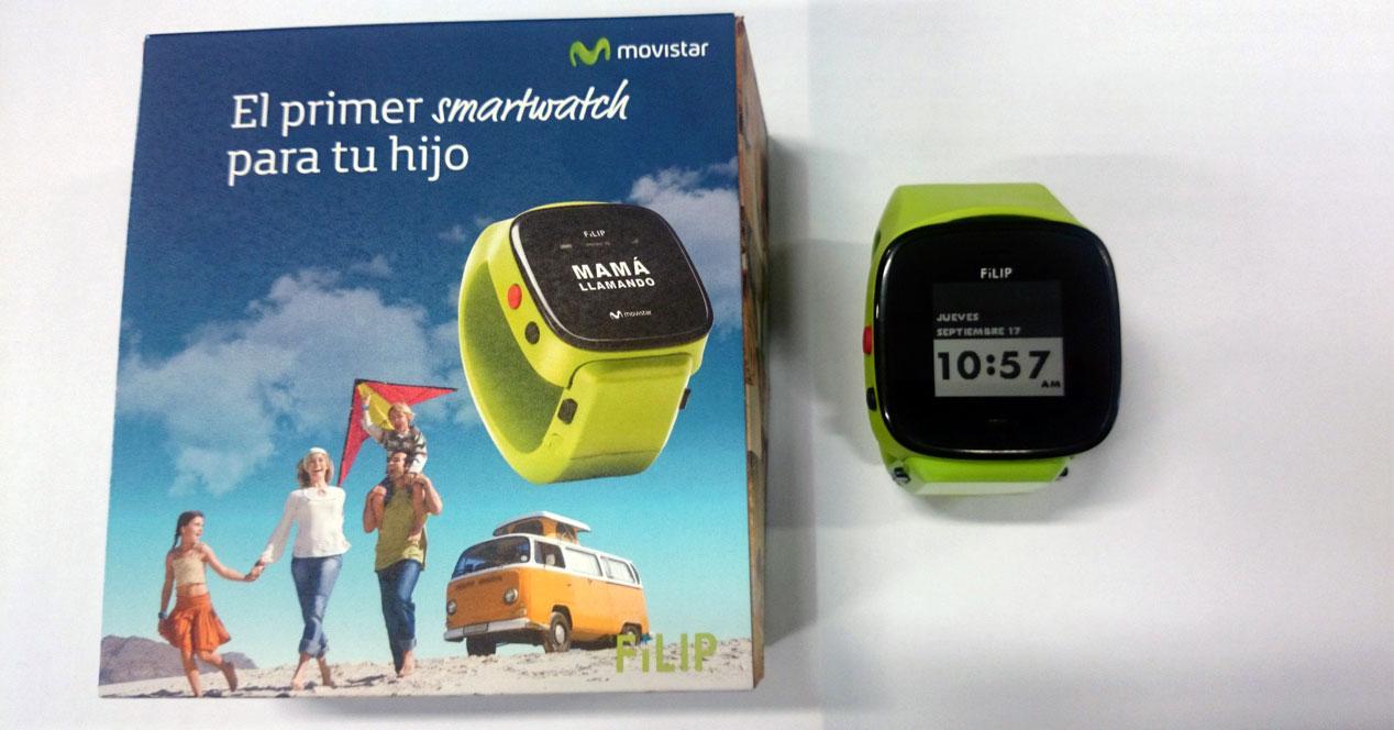 FiLIP reloj Movistar