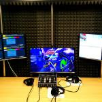 Sala de grabación y estudio de televisión